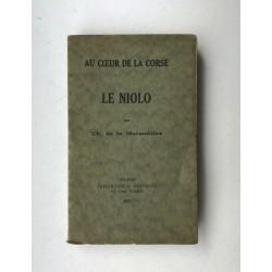 Au Coeur de la Corse - Le Niolo  par Charles de La Morandière