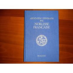 Annuaire A.N.F. 1982  Association d'Entraide de la Noblesse