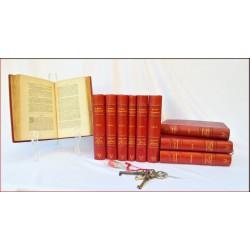 Annuaire de la Noblesse de France en 76 volumes Plein Cuir
