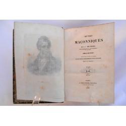 Oeuvres maçonniques de Nicolas Charles des Étangs
