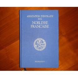 Annuaire A.N.F. 1985 Association d'Entraide de la Noblesse française