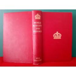 World Nobility and Perage   Annuaire de la Noblesse de France  86ème édition