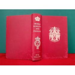 World Nobility and Perage   Annuaire de la Noblesse de France  87ème édition
