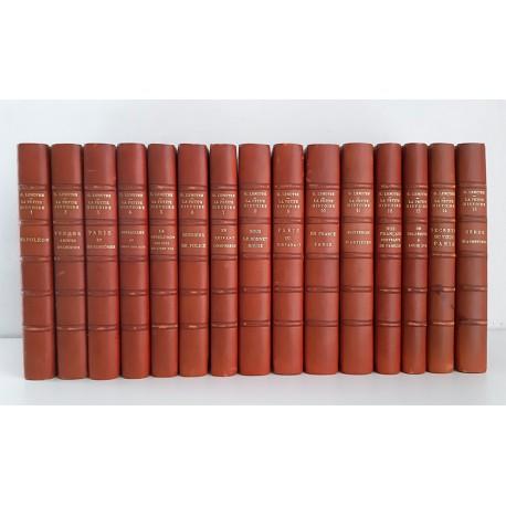 """G. LENOTRE """"La Petite Histoire"""" en 15 volumes reliés (1949-1957)"""