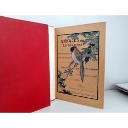 Académie des Beaux Livres - Annales Littéraires (1889-1894) Relié Complet