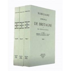 Nobiliaire et Armorial de Bretagne Pol Potier de Courcy