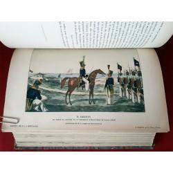 1912 Carnet de la Sabretache 1 volume relié, 2ème série, 11ème volume, Complet