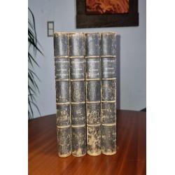 Ch. POPLIMONT La France Héraldique Complet 8 tomes reliés en 4 volumes Ex-libris