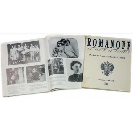 """Jacques Ferrand """"ROMANOFF : Un album de famille"""" 2 volumes"""