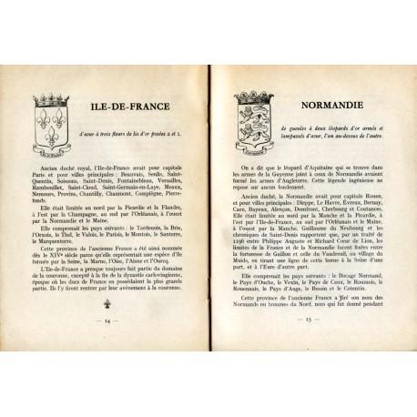 Notice Historique sur les Blasons des Anciennes Provinces de France