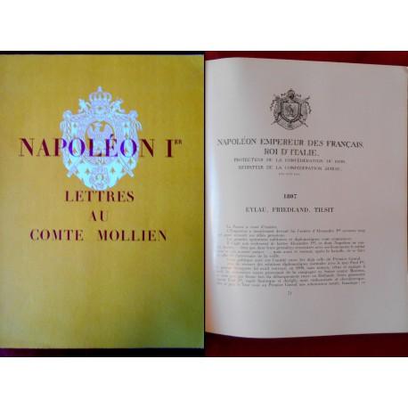 Napoléon Ier - Lettres au Comte Mollien (Ministre du Trésor, 1803-1815)