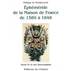 Ephéméride de la Maison de France de 1589 à 1848 Philippe de Montjouvent