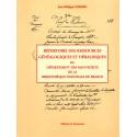 Répertoire des ressources généalogiques et héraldiques du Département des manuscrits de la Bibliothèque nationale de France