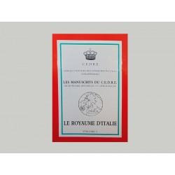 Le C.E.D.R.E. Le Royaume d'Italie (3 volumes)