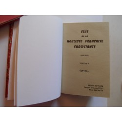 Etat présent de la Noblesse Française Subsistante  Volume 7