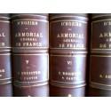 D'Hozier - Armorial Général, Registre de la Noblesse de France 11 volumes