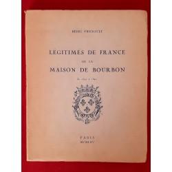 Légitimés de la Maison de Bourbon  Henri Vrignault