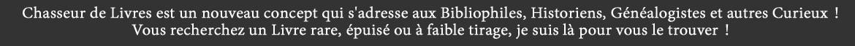Site Chasseur de Livres