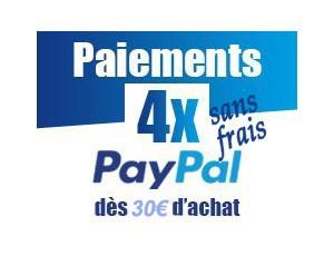 Paypal en 4 fois sans frais